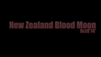 Embedded thumbnail for New Zealand Blood Moon. Oct8'14'