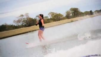 Embedded thumbnail for Water Skiing - Lake Hood
